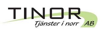 TINOR AB Tjänster i Norr Logotyp